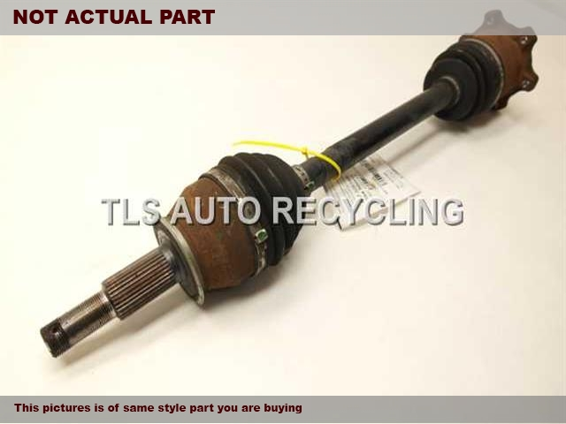 2007 Infiniti G35 Axle Shaft. PSSENGER REAR AXLE SHAFT 39600-JK00A