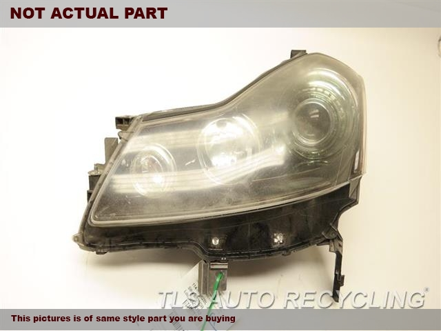 2006 Infiniti M45 Headlamp Assembly. UPPER TABS DAMAGE DRIVER HID HEADLAMP 26060EH125