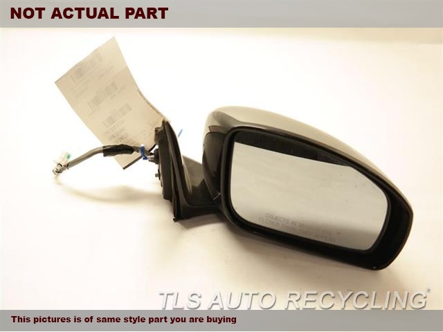 2006 Infiniti M45 Side View Mirror. 96302EH100  BLACK DRIVER SIDE VIEW MIRROR