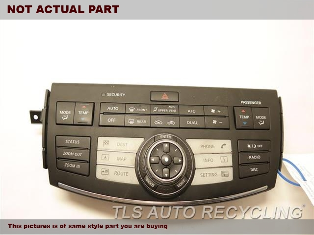 2006 Infiniti M45 Temp Control Unit. TEMPERATURE CONTROL 28395EH100