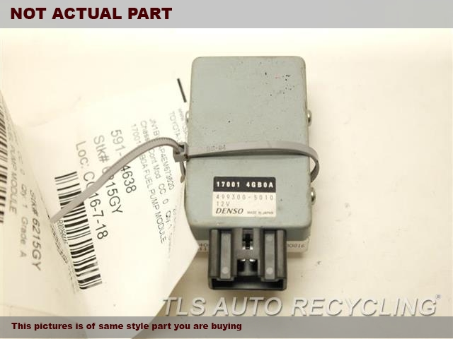 2014 Infiniti Q50 Chassis Cont Mod. 170014GB0A FUEL PUMP MODULE