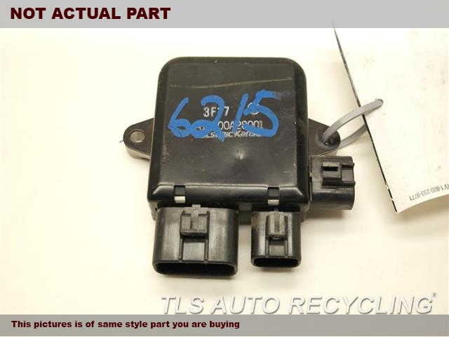 2011 Nissan LEAF Chassis Cont Mod. A18700A28001 COOLING FAN MODULE