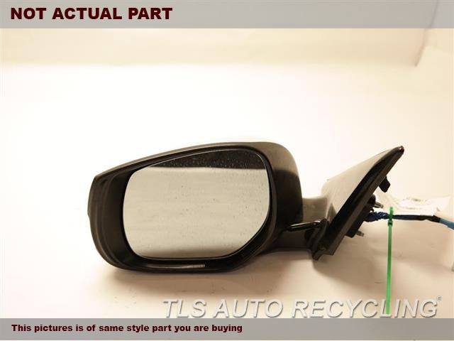 2014 Infiniti Q50 Side View Mirror. 963024HB0AWHITE DRIVER SIDE VIEW MIRROR