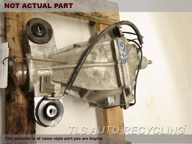 2014 Infiniti Q50 Rear differential. 383014GD4AREAR DIFFERENTIAL ASSEMBLY