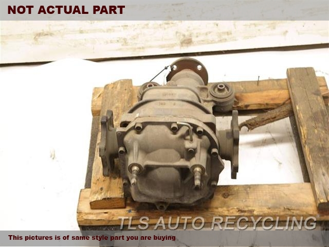 2004 Infiniti QX56 Rear differential. (3.357 RATIO), REAR