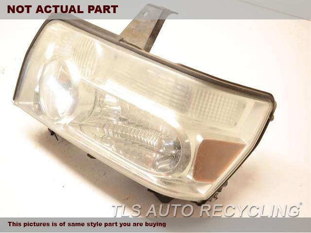2004 Infiniti QX56 Headlamp Assembly. DRIVER HEADLAMP
