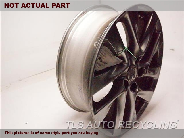2014 Infiniti QX60 Wheel. CURB RASH18X7-1/2 GRAY ALLOY WHEEL, 10 SPOKE