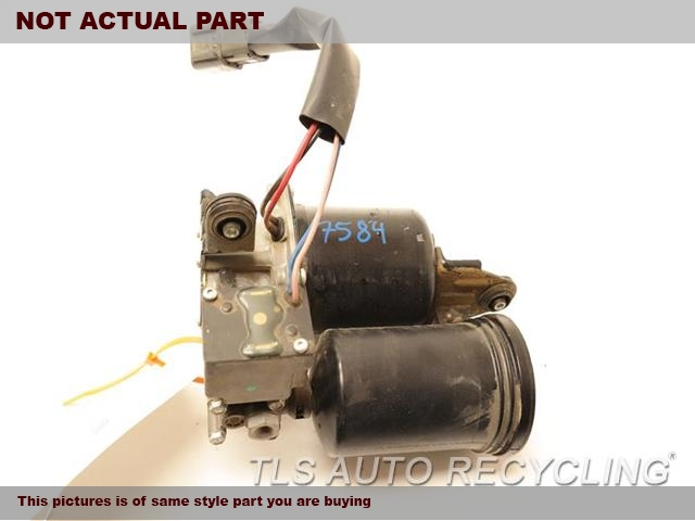 2017 Nissan ARMADA Brake Booster. ABS,(HYDRAULIC)