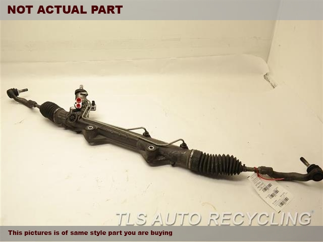 2009 Jaguar XF Steering Gear Rack. STEERING GEAR RACK C2Z2214