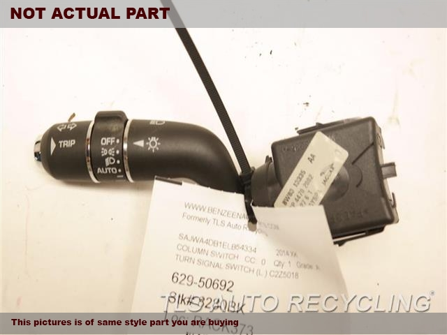 2009 Jaguar XF Column Switch. TURN SIGNAL SWITCH C2Z5018