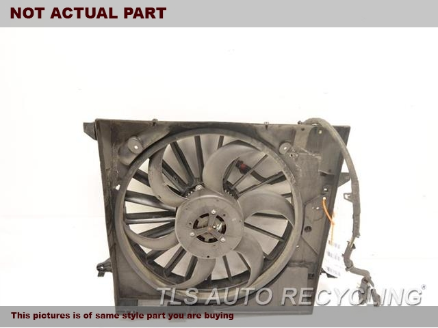 2009 Jaguar XF Rad Cond Fan Assy. RADIATOR FAN ASSEMBLY C2P9525