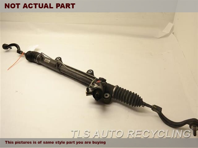 2008 Jaguar XKR Steering Gear Rack. POWER RACK AND PINION