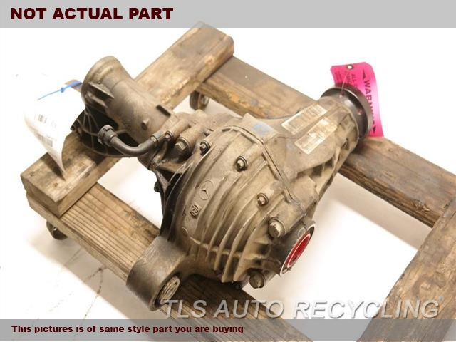 2014 JEEP GRANDCHER Rear differential. FRONT, 3.45 RATIO