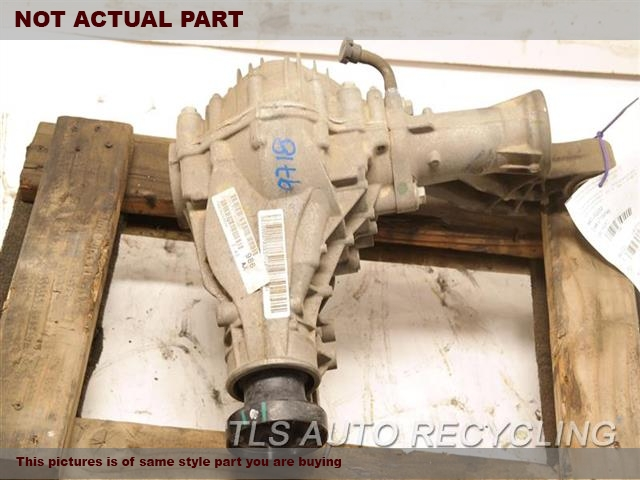 2014 Jeep Grandcher Front Differential  FRONT, 3.45 RATIO