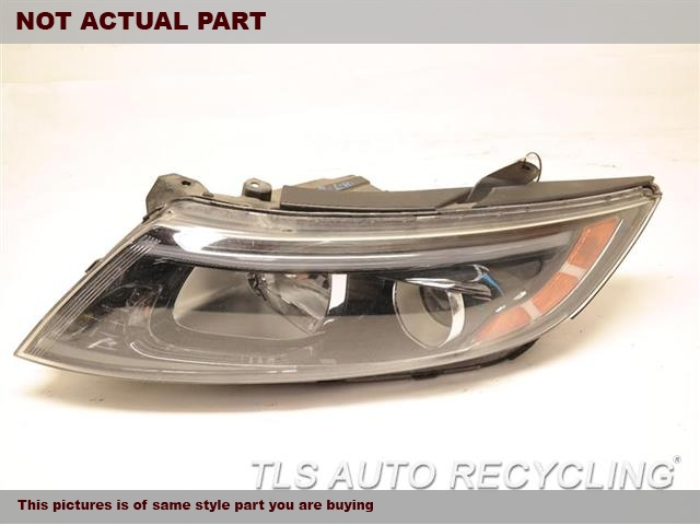 2014 Kia OPTIMAKIA Headlamp Assembly. 921014C500  ONE BROKEN LOWER TAB, NEED BUFFINGDRIVER HEADLAMP  VIN 7 (8TH DIGIT),