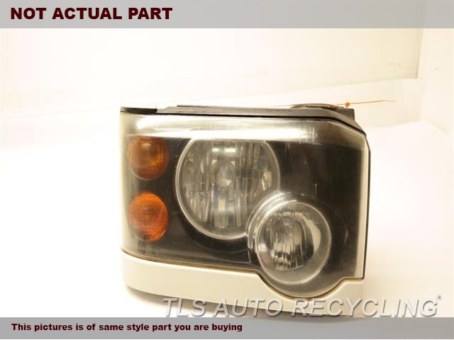 2003 Land Rover DISCOVERY Headlamp Assembly. SIDE TAB DAMAGE PASSENGER HEADLAMP XBC501460