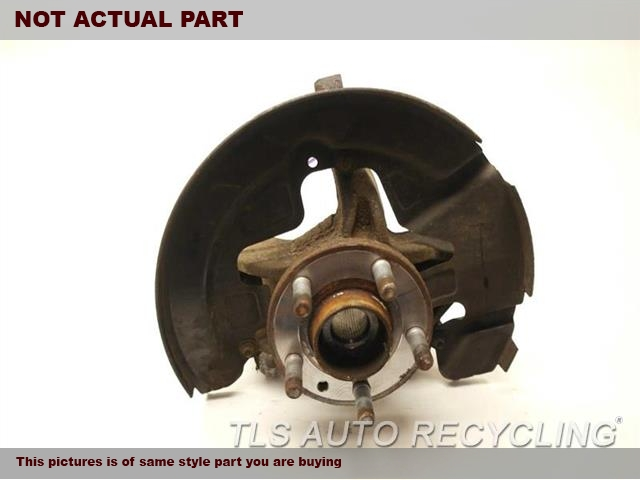 DRIVER FRONT KNUCKLE W/HUB