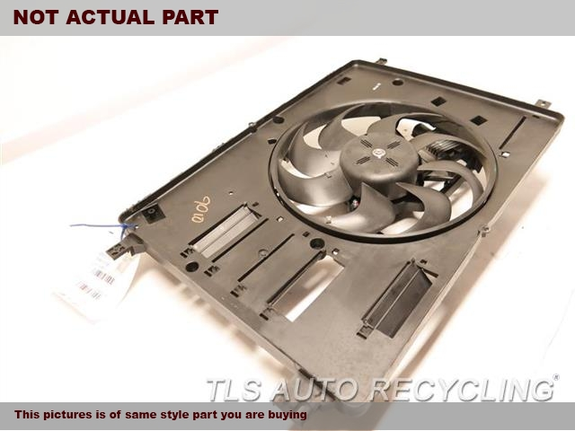 FAN ASSEMBLY, (STANDARD COOLING)