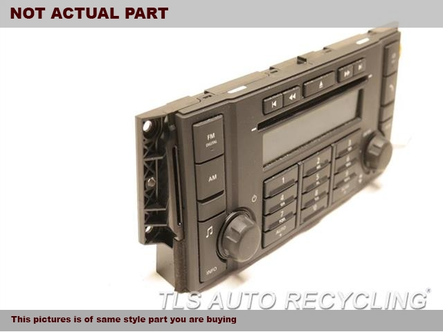 2009 Land Rover Lr2 Radio Audio / Amp  CONTROL (FRONT PANEL)CHECK ID