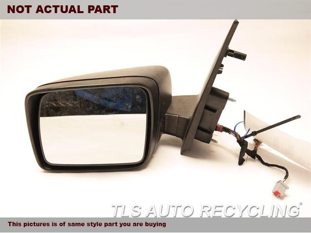 2009 Land Rover Lr2 Side View Mirror  LH,BLU,PM,POWER