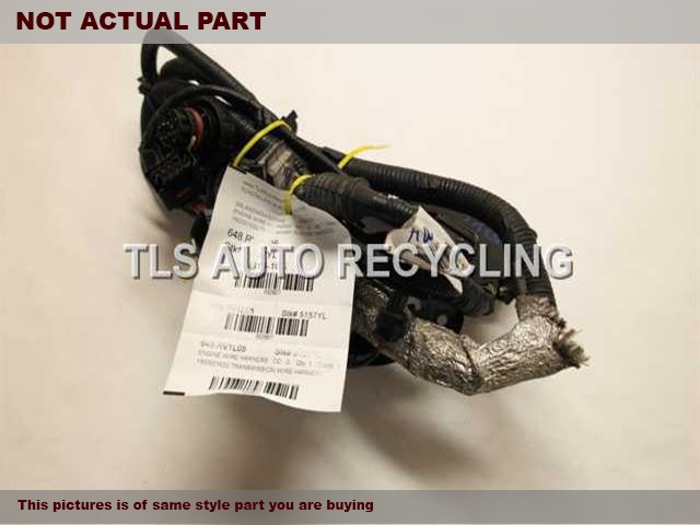 2005 Land Rover Lr3 Engine Wire Harness - 4h23-12b637-ad4741262 Engine Wire Harness - Used