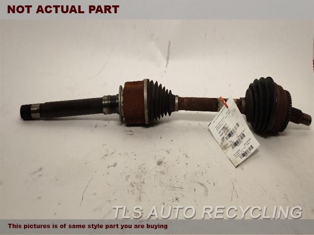 2011 Land Rover Lr4 Axle Shaft  RH,5.0L,FRONT AXLE, R.