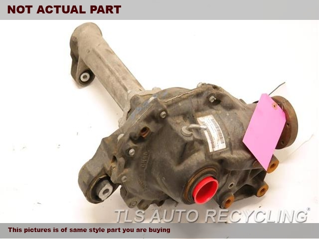 2010 Land Rover LR4 Rear differential. FRONT, (5.0L)