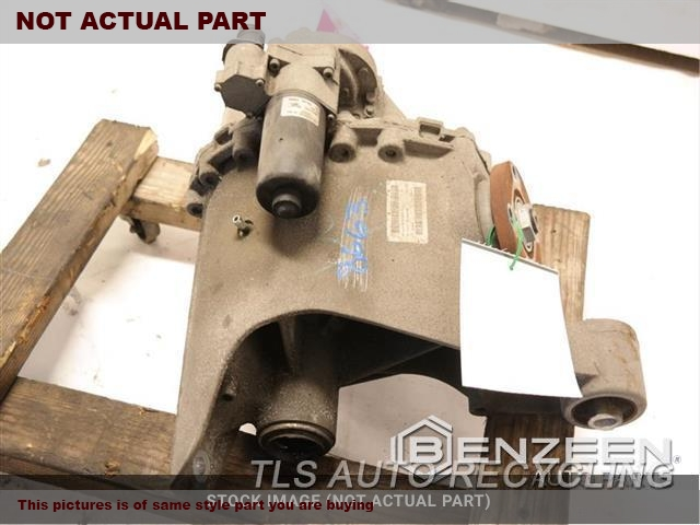 2011 Land Rover Lr4 Rear Differential  5.0L,REAR, (5.0L), NON-LOCKING
