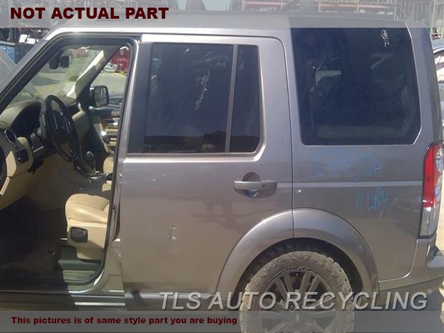GRAY DRIVER REAR DOOR