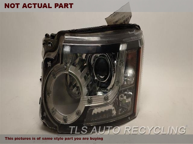 2011 Land Rover LR4 Headlamp Assembly. LH,XENON (HID)