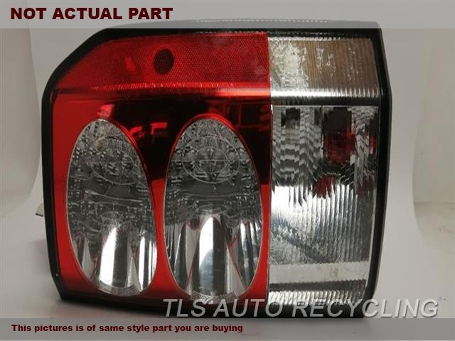 2010 Land Rover LR4 Tail Lamp. RH,SIDE MARKER LAMPS, R.