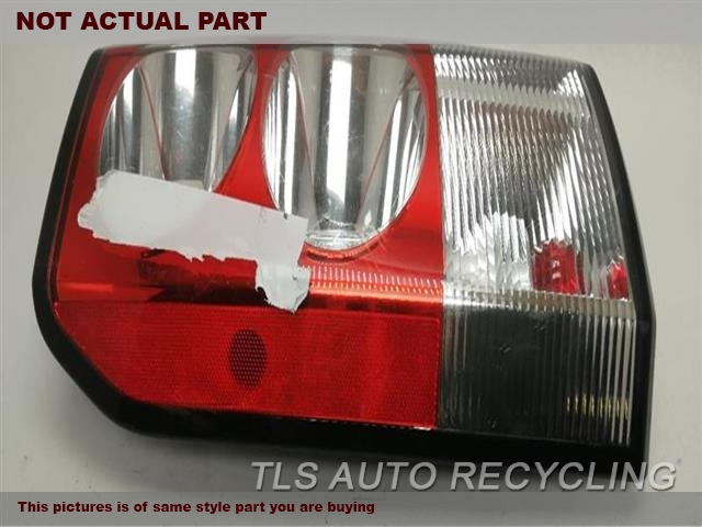 2010 Land Rover LR4 Tail Lamp. LH,SIDE MARKER LAMPS, L.