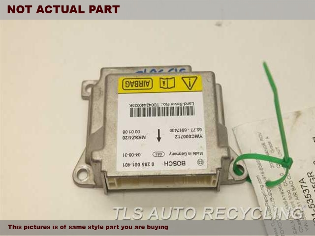 2005 Land Rover Range Rover Chassis Cont Mod. YWC000712YWJ500231 AIR BAG CONTROL UNIT