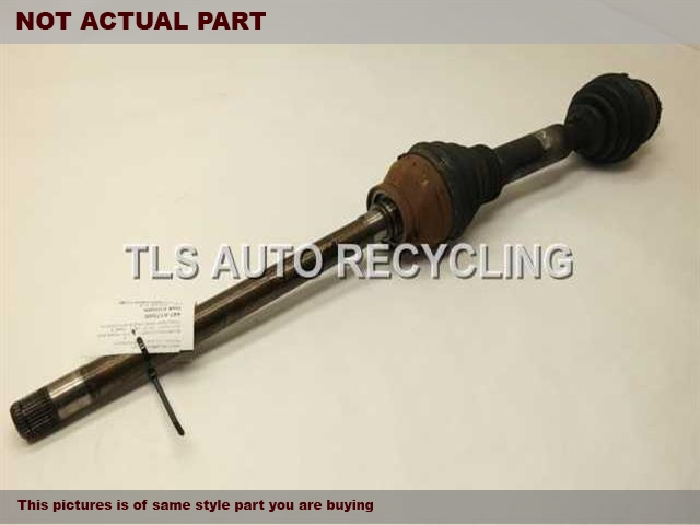 2011 Land Rover Range Rover Axle Shaft. PASSENGER FRONT AXLE SHAFT IED500110