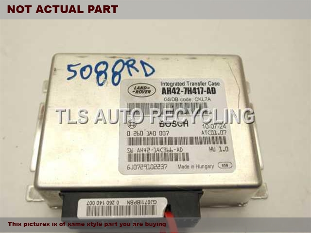 2011 Land Rover Range Rover Chassis Cont Mod. AH42-7H417-ADLR010752 TRANSFER CASE COMPUTER