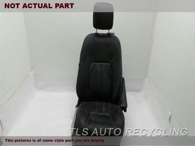 2012 Land Rover Range Rover Seat, Front. RH,BLK,LEA,HEATED, W/O HEADREST