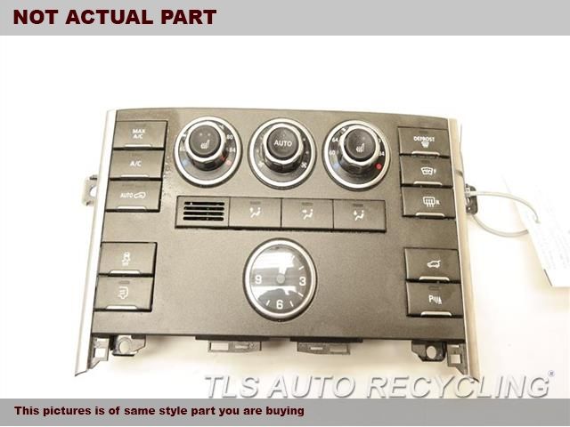 2012 Land Rover Range Rover Temp Control Unit  BLK,FRONT, HEATED FRONT AND REAR