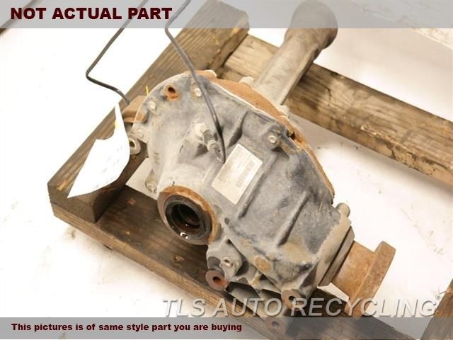2009 Land Rover ROVER SPT Rear differential. FRONT, 4.4L