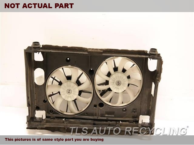 2015 Toyota Prius Rad Cond Fan Assy. RADIATOR FAN ASSEMBLY 16711-37040