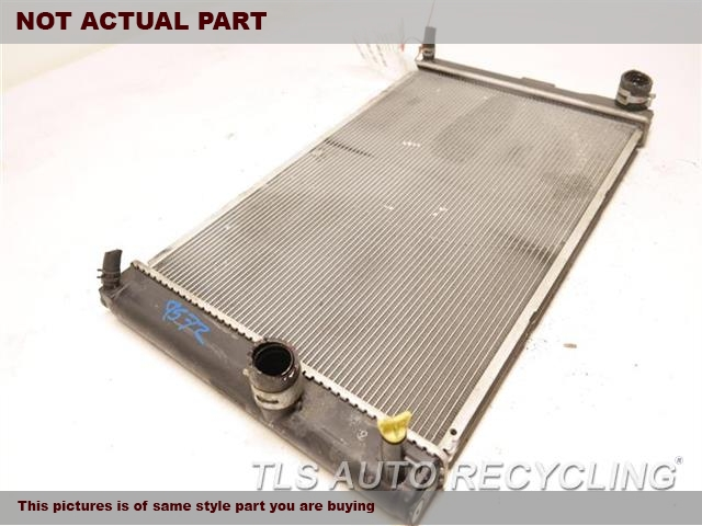 2014 Lexus CT 200H Radiator. ENGINE (GASOLINE)