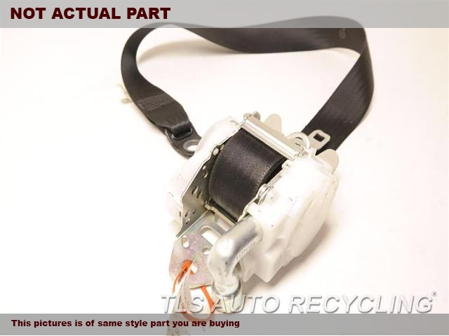 2014 Lexus CT 200H Seat Belt front. BRWN,(BUCKET), DRIVER, RETRACTOR