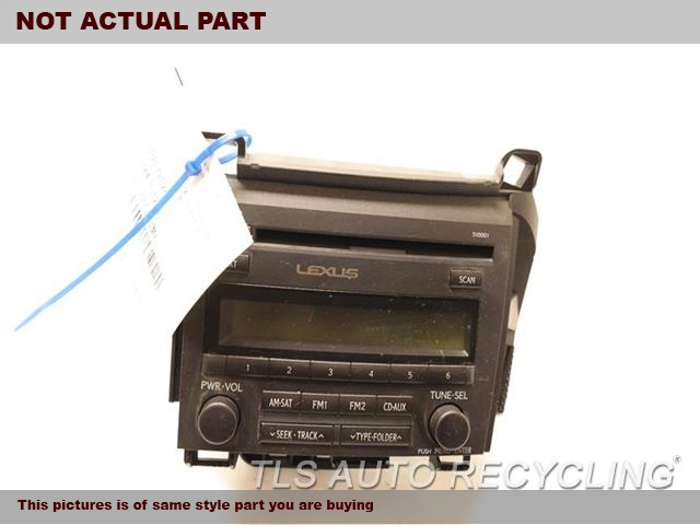 2014 Lexus CT 200H Radio Audio / Amp. RECEIVER, US MARKET, ID 510001