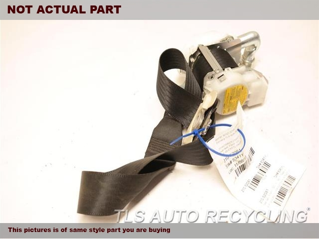2014 Lexus CT 200H Seat Belt front. BRWN,(BUCKET), PASSENGER, RETRACTOR
