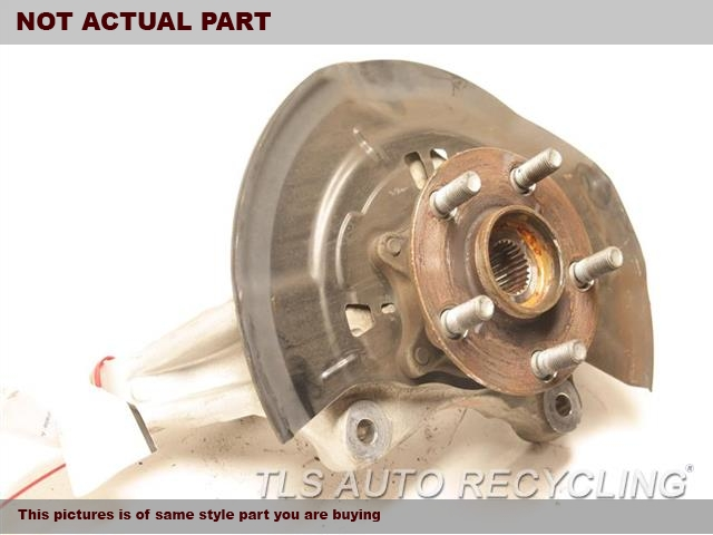 2015 Toyota Prius Spindle Knuckle, Fr. LH,PRIUS VIN DU, 7TH AND 8TH DIGIT