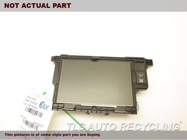 2014 Lexus ES 350 Navigation GPS Screen. NAVIGATION DISPLAY 86110-33020