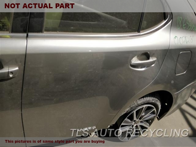 2013 Lexus ES 350 Door Assembly, Rear side. 000,LH,BLK,PW,PL,W/O SUNSHADE, L.