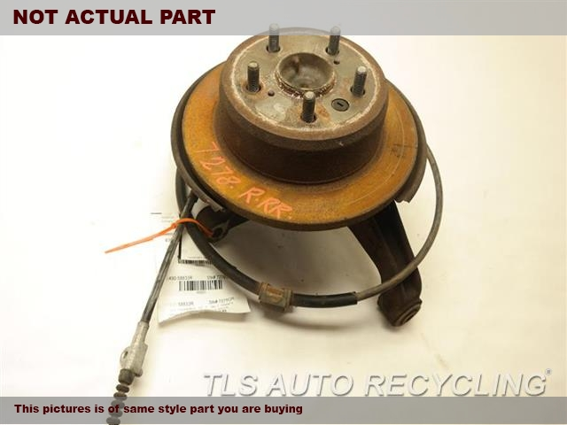 2010 Lexus ES 350 rear nuckle / stub axle. RH
