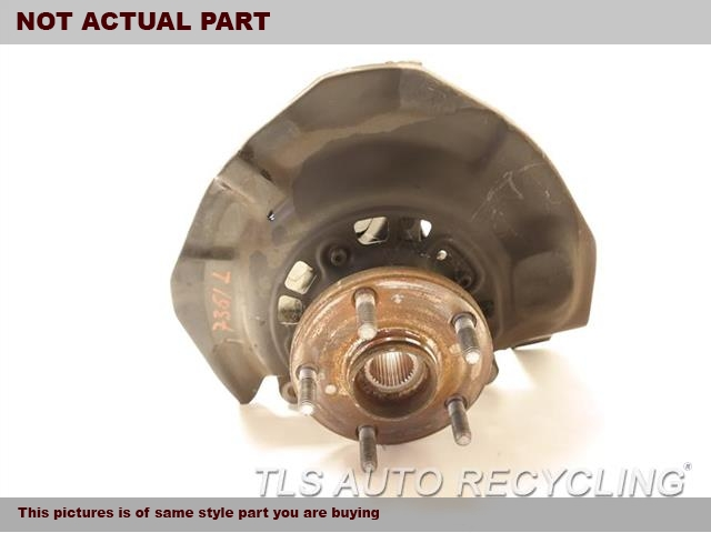 2010 Toyota Camry Spindle Knuckle, Fr. 43212-AA010 43502-AA021DRIVER FRONT KNUCKLE W/HUB