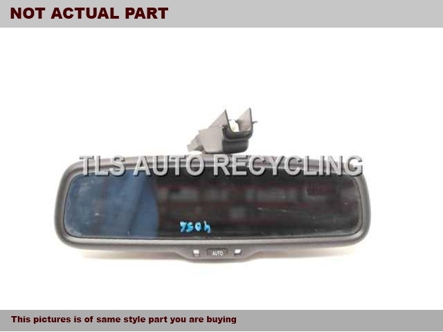 2010 Lexus ES 350 Rear View Mirror Interior. (AUTOMATIC DIMMING), W/O NAVIGA
