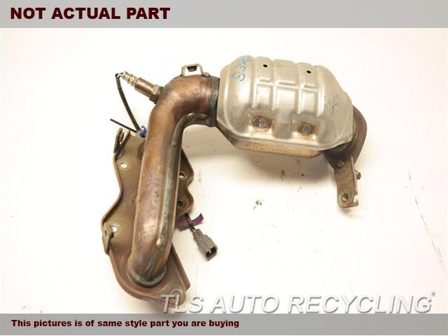 2009 Toyota Camry Exhaust Manifold Front 171500p040: 2009 Toyota Camry Exhaust System At Woreks.co